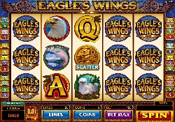 Eagle Wings - New pokie at Spin Palace Casino